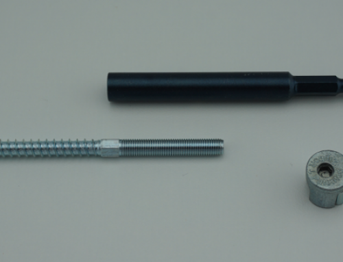 Deep Socket Tool for Micro Railbolt